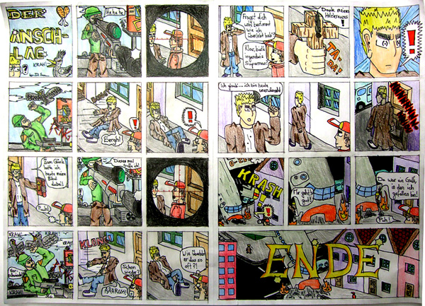 Klettergerüst Comic : Comic